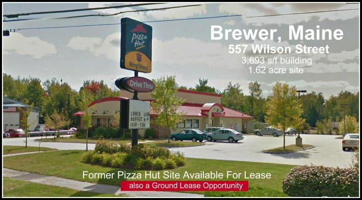Former Pizza Hut For Lease